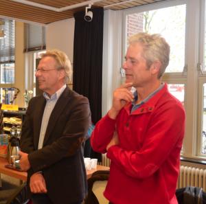 Rode Taart 2013 - voorzitters sc Teuge en vv Voorst