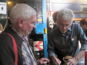 Wim van Ee en Jan de Bruin
