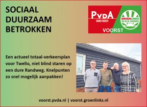 Advertentie in Voorster Nieuws 6 feb. 2018
